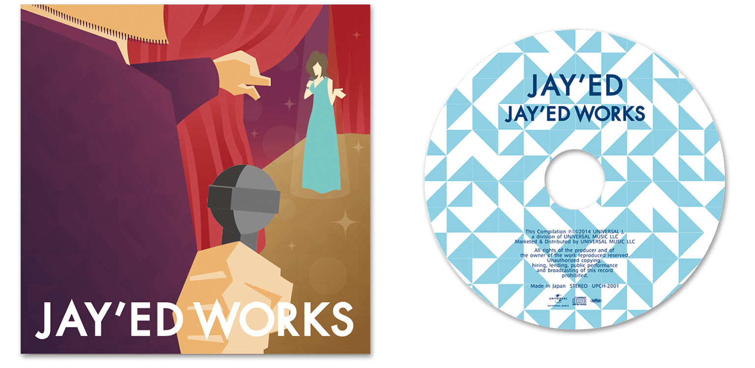 CD cover Design for Jay'ed / Art Direction & Design