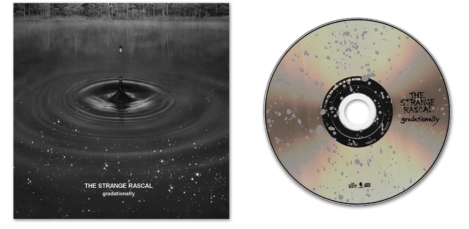 CD cover Design for THE STRANGE RASCAL/Art Direction & Design
